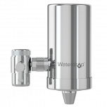 Waterdrop Faucet Water Filter, Stainless-Steel, Carbon Block Water Filtration System WD-FC-06