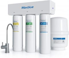 Maxblue H7 Undersink Reverse Osmosis Filter System for Home