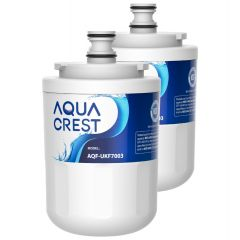 AQUACREST UKF7003 Refrigerator Water Filter, Replacement for Maytag UKF7003, UKF7002AXX, Whirlpool  EDR7D1, EDR7D2, EDR7D3
