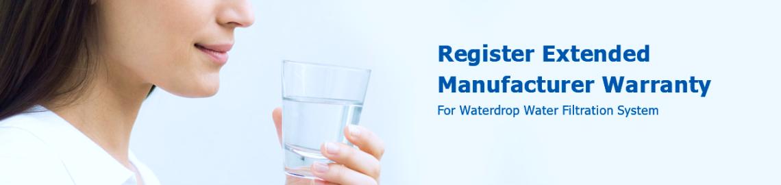 Register Extended Manufacturer Warranty*